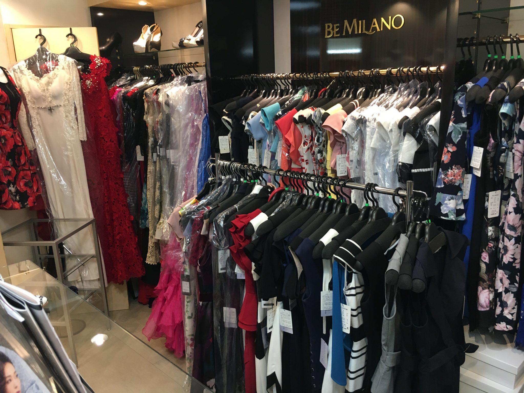 ビー・ミラノ中洲大通店商品(ドレス)