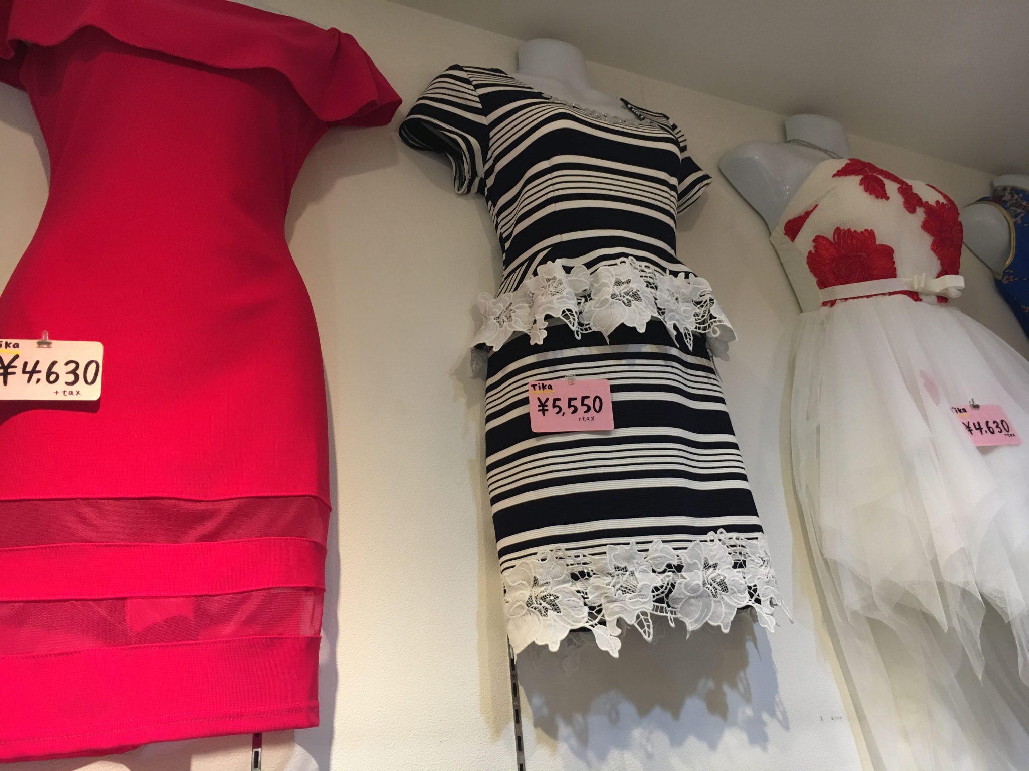 AS COLLECTIONアズトレーディング店アズコレクション商品(ドレス)