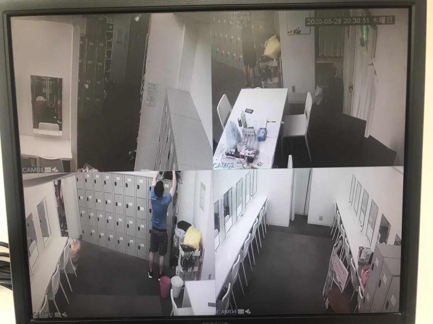 中洲派遣ティアラ防犯カメラ4