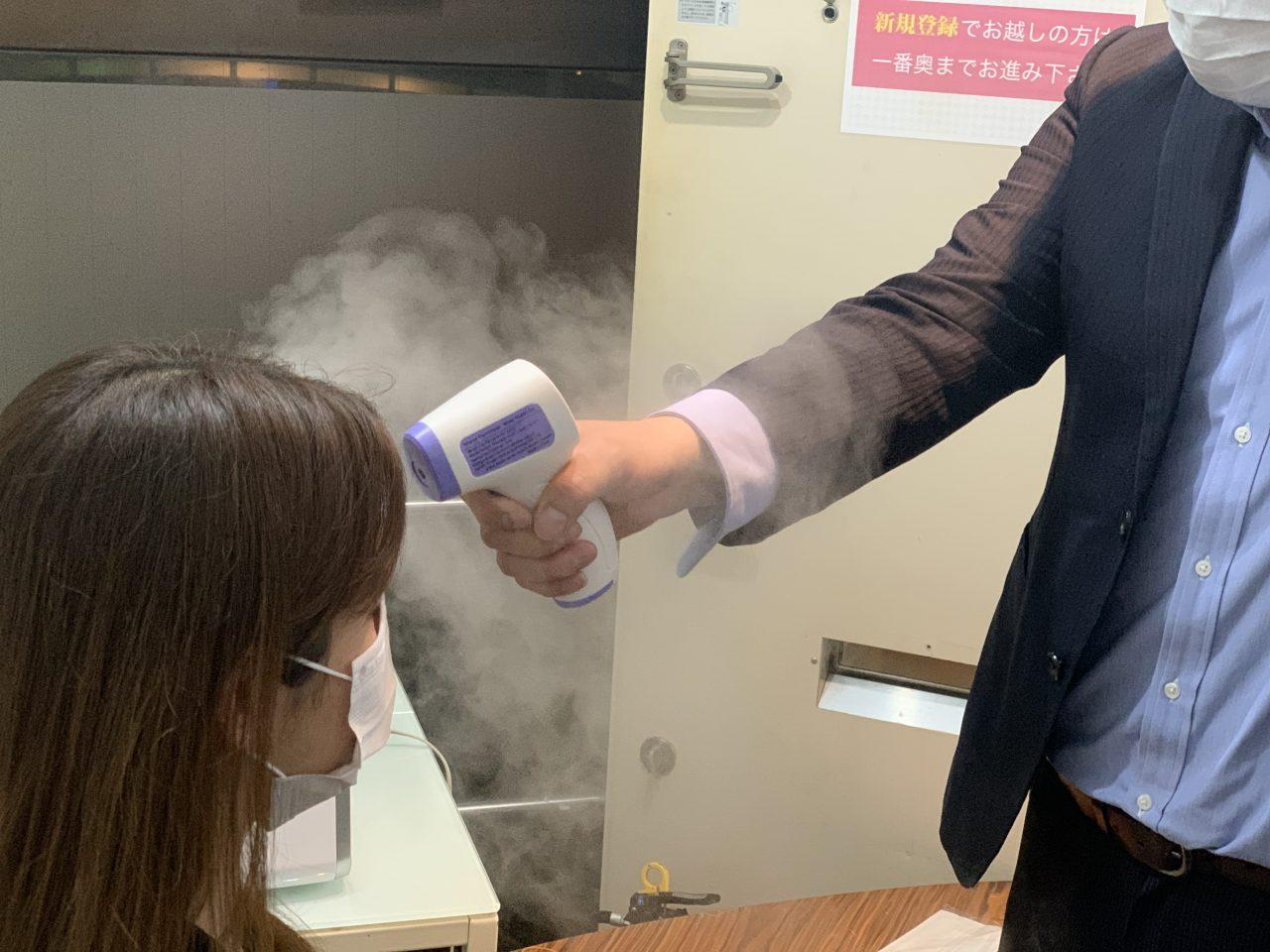 新型コロナウイルス対策について中洲派遣ティアラの取り組み