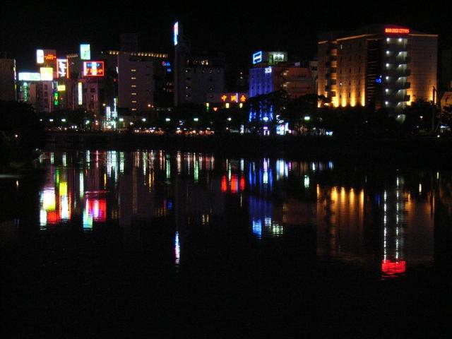 中洲の夜の街イメージ