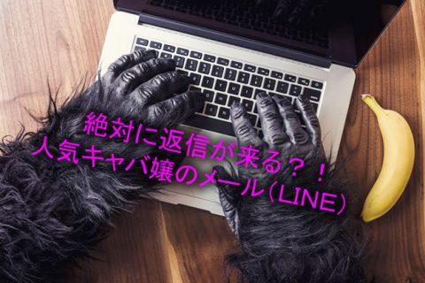 絶対返信が来る!?人気キャバ嬢の営業メール!lineライン!